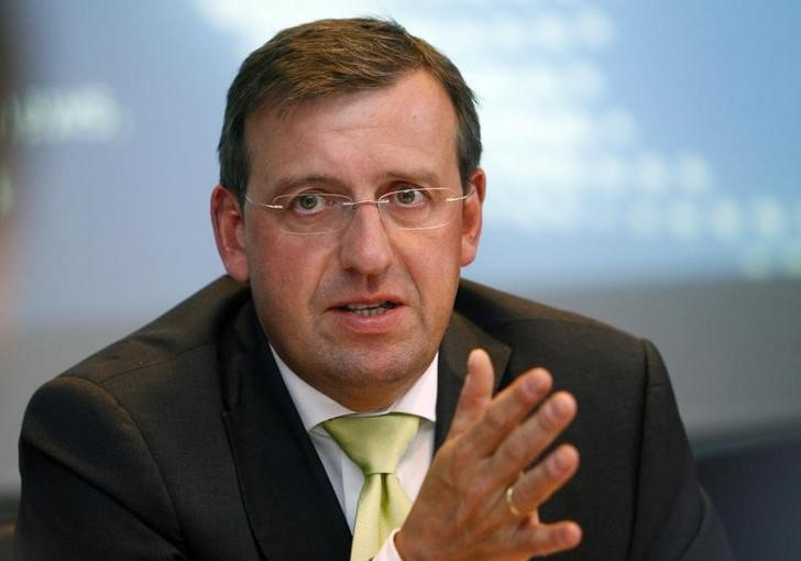 Wolf, CEO of ElringKlinger AG talks to journalists during an exclusive interview at the Reuters Auto Summit in Frankfurt