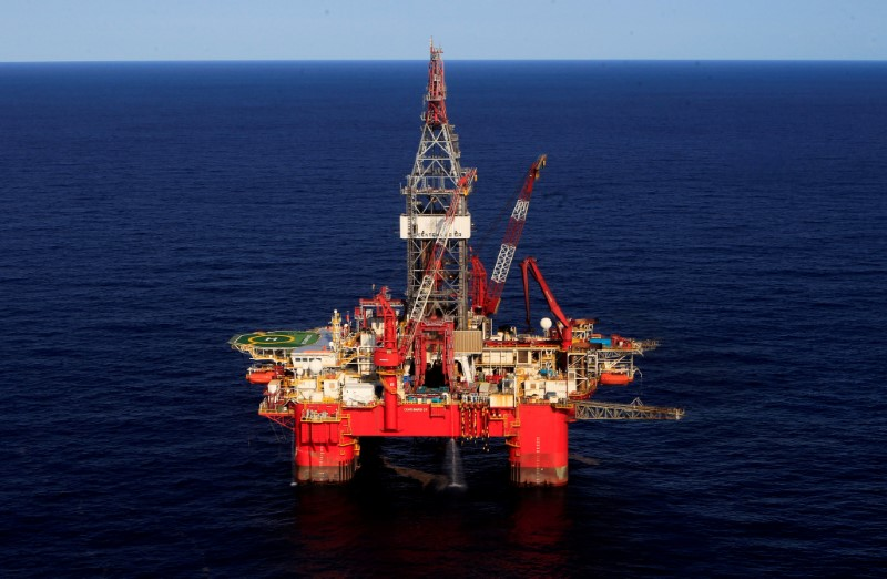 FILE PHOTO: General view of the Centenario deep-water oil platform in the Gulf of Mexico off the coast of Veracruz
