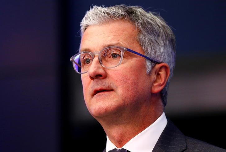 FILE PHOTO: Stadler, CEO and Chairman of the Board of Management of Audi attends the