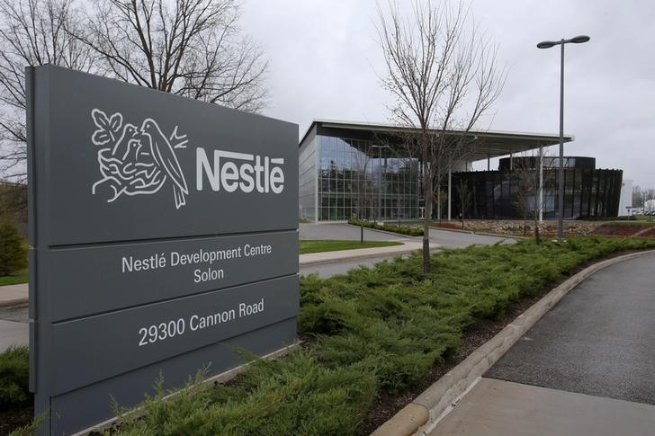 A view of the Nestle Development Center in Solon
