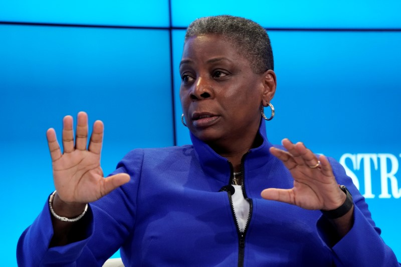 FILE PHOTO: Ursula Burns, chairwoman of Veon, at the World Economic Forum annual meeting in Davos