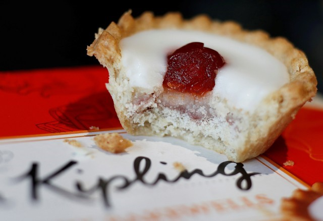 FILE PHOTO: An illustration of a Mr Kipling Cherry Bakewell
