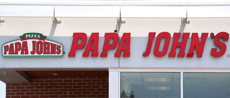 FILE PHOTO: The Papa John's store in Westminster