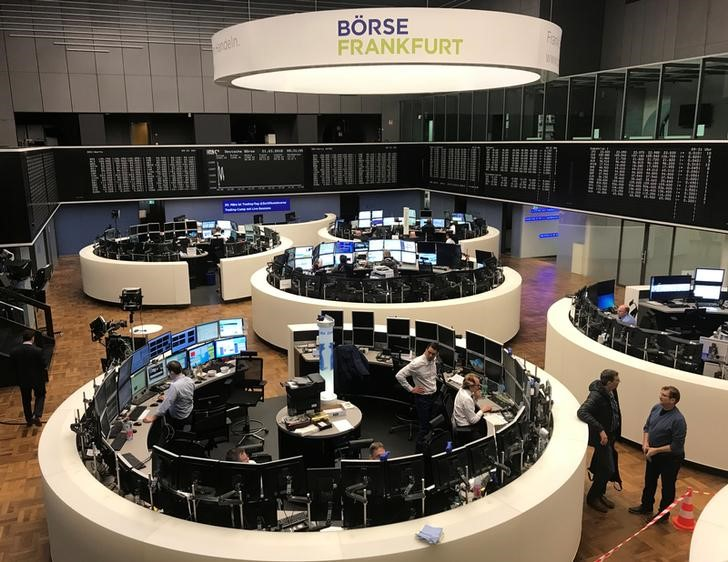 Image result for European shares wilt as investors brace for trade meeting