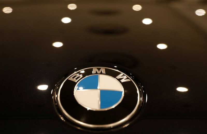 FILE PHOTO: The BMW Logo Is Seen On A Vehicle At The New York Auto