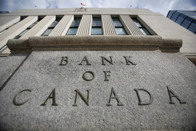 FILE PHOTO: The Bank of Canada building in Ottawa