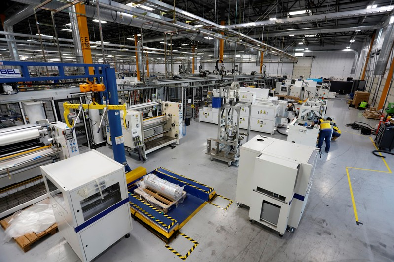 P-Series solar panel manufacturing technology is seen at SunPower's Hillsboro manufacturing plant Hillsboro