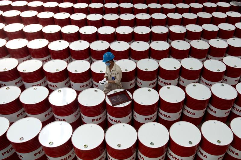 Marché : Le pétrole termine la journée en hausse mais recule sur l'année