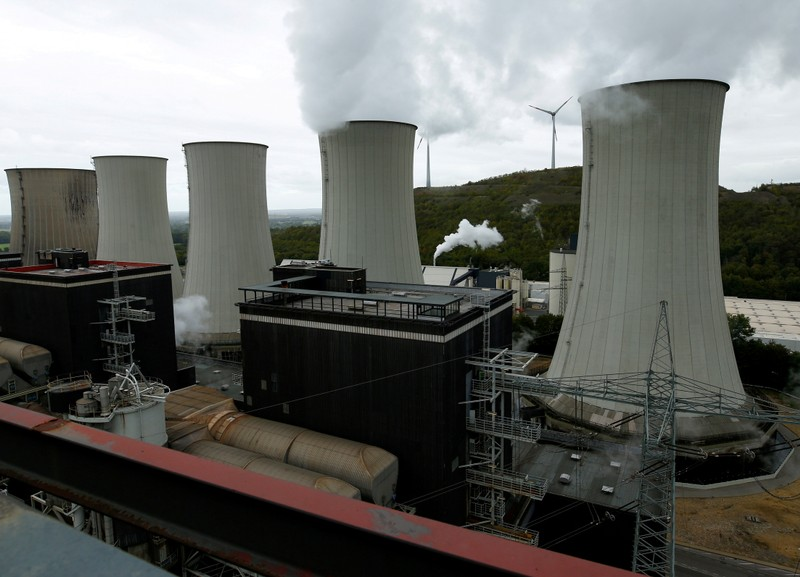 FILE PHOTO: Uniper's Scholven coal power plant is pictured in Gelsenkirchen, Germany