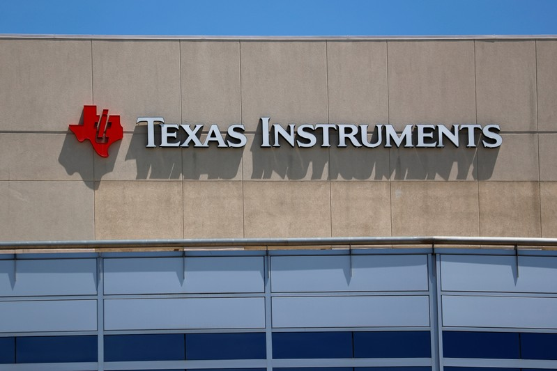 FILE PHOTO - A Texas Instruments Office is shown in San Diego, California