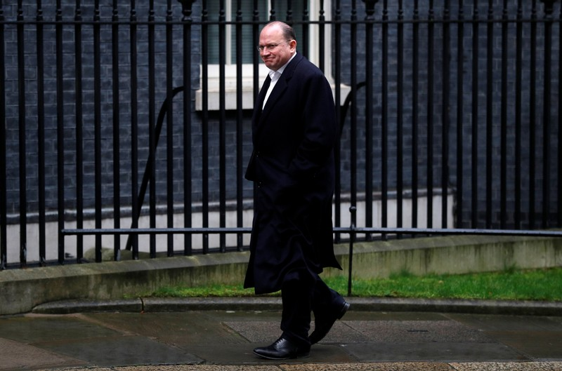FILE PHOTO:  Mark Tucker Chairman of HSBC arrives at 10 Downing Street in London