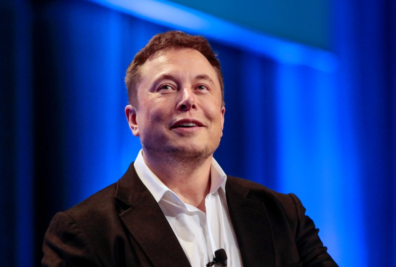 FILE PHOTO:  Tesla and SpaceX CEO Musk participates in a