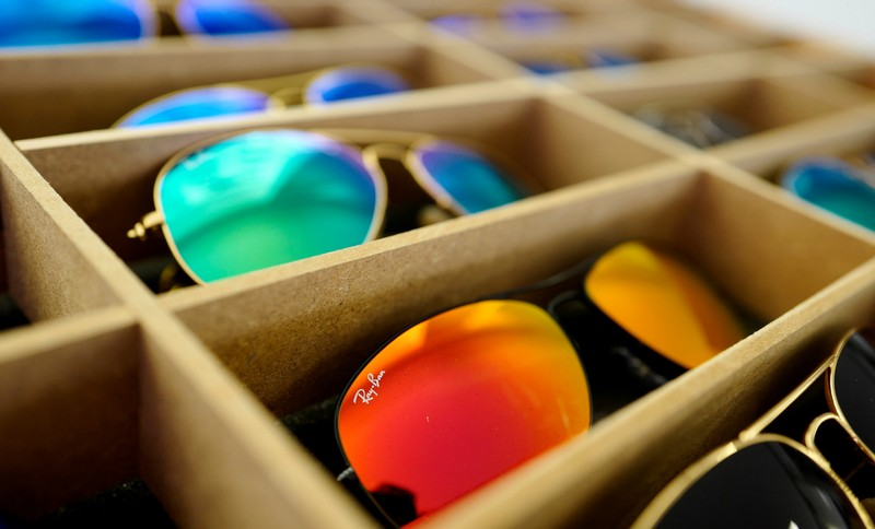 c570ba190f FILE PHOTO  Sunglasses from Ray Ban are on display at an optician shop in  Hanau