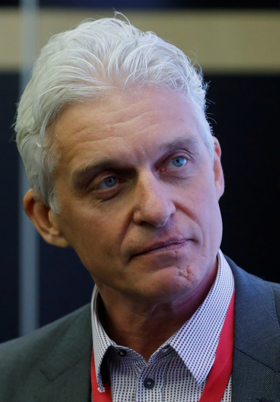 FILE PHOTO: Russian entrepreneur Oleg Tinkov