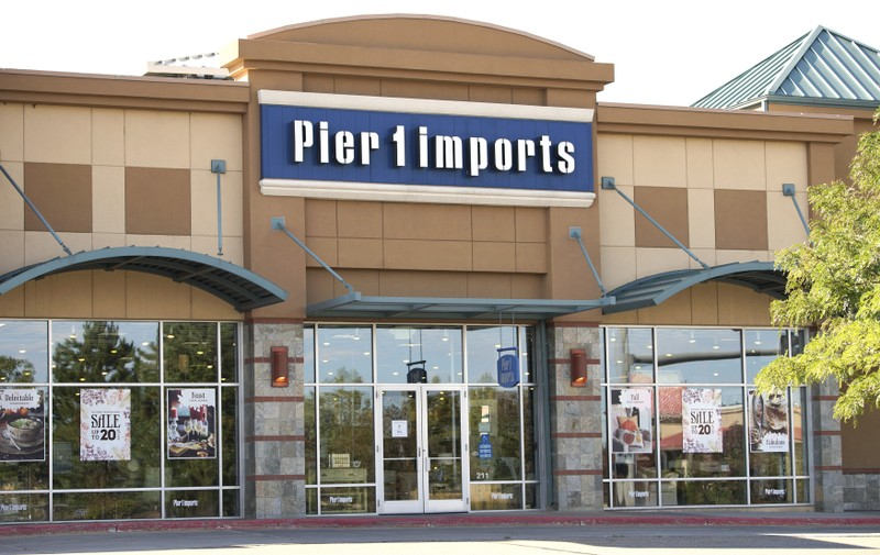 The Pier 1 Imports store is seen in Broomfield