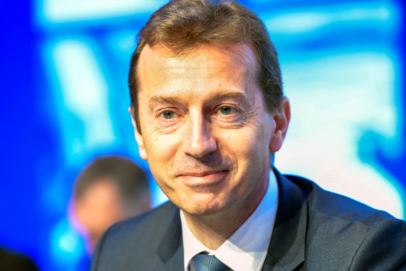President of Airbus Commercial Aircraft Guillaume Faury attends the Airbus annual general meeting in Amsterdam