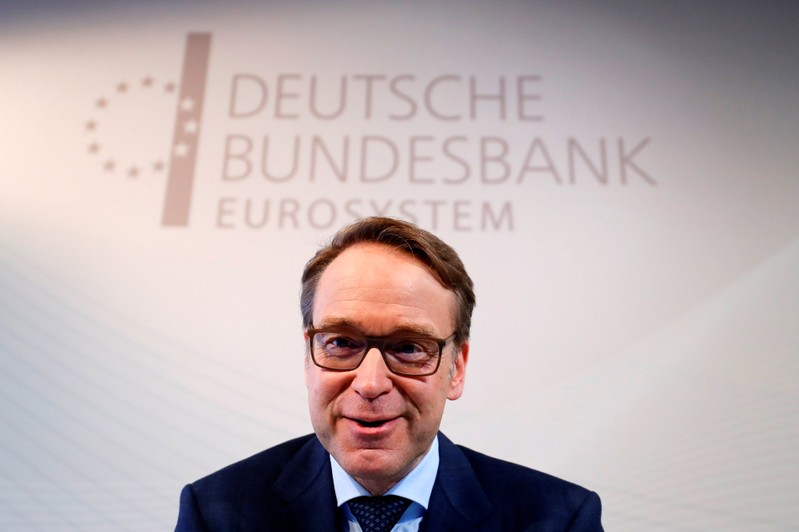 German Bundesbank President Jens Weidmann presents the annual 2018 report in Frankfurt