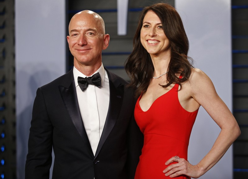 Mackenzie Bezos Pledges Half Her Fortune To Charity After