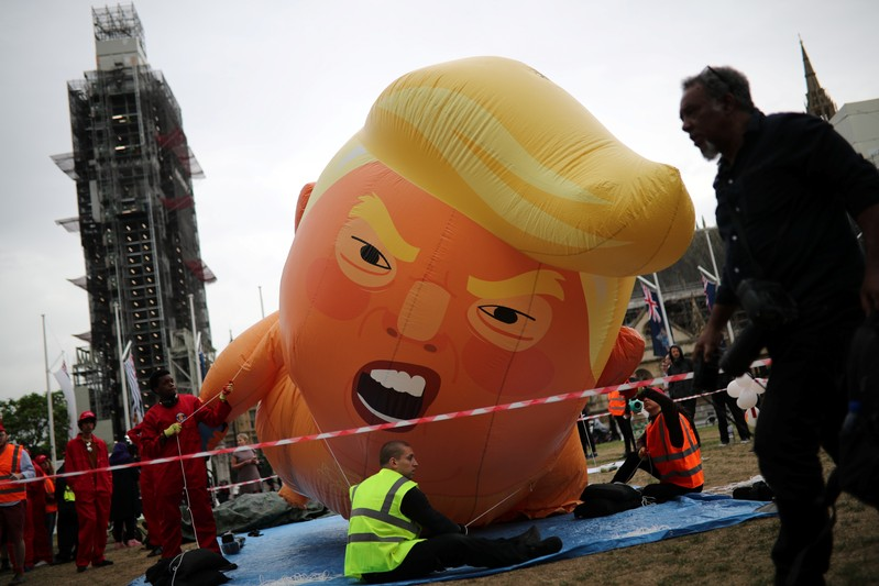 Splunk : Effusive Trump promises Britain a 'phenomenal' post-Brexit