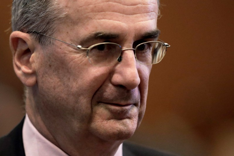 Francois Villeroy de Galhau, attends the Group of 20 (G-20) high-level seminar on financial innovation