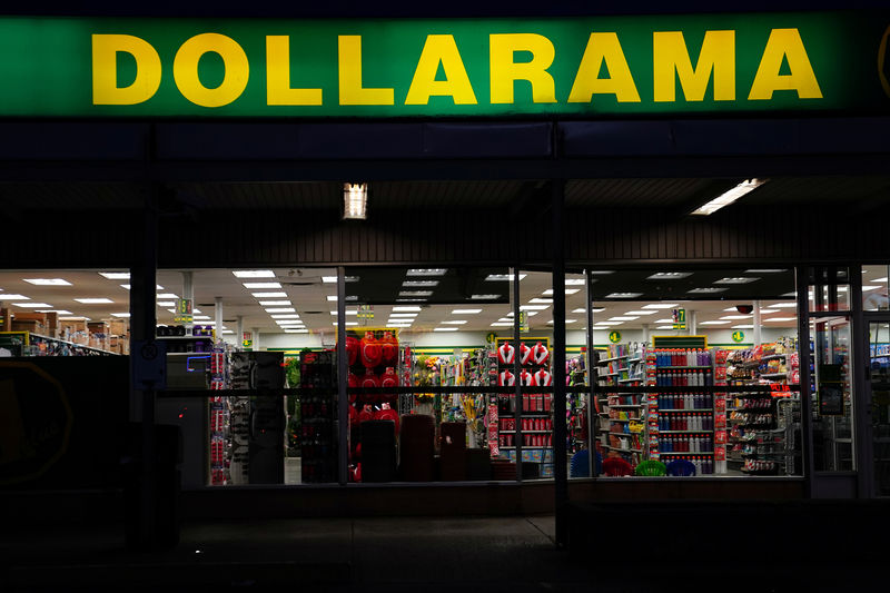 A Dollarama store is pictured in Toronto, Ontario