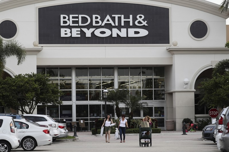 BED BATH & BEYOND À SUIVRE À WALL STREET