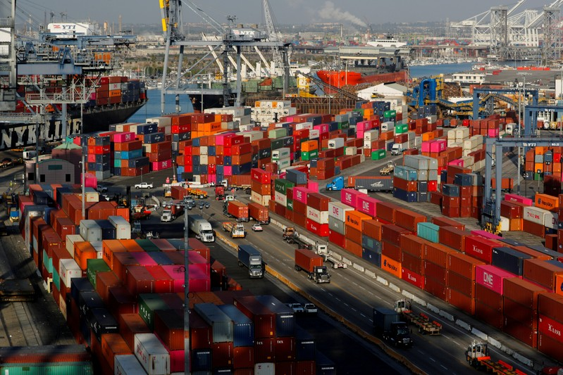 COSCO SHIPPING : June imports fall at top U S  hub for China ocean