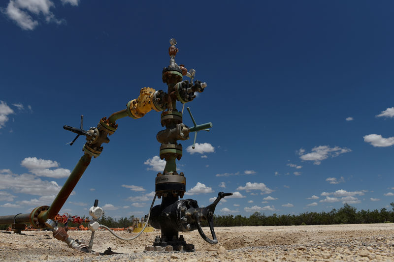 A wastewater injection well owned by Parsley Energy operates in the Permian Basin near Midland