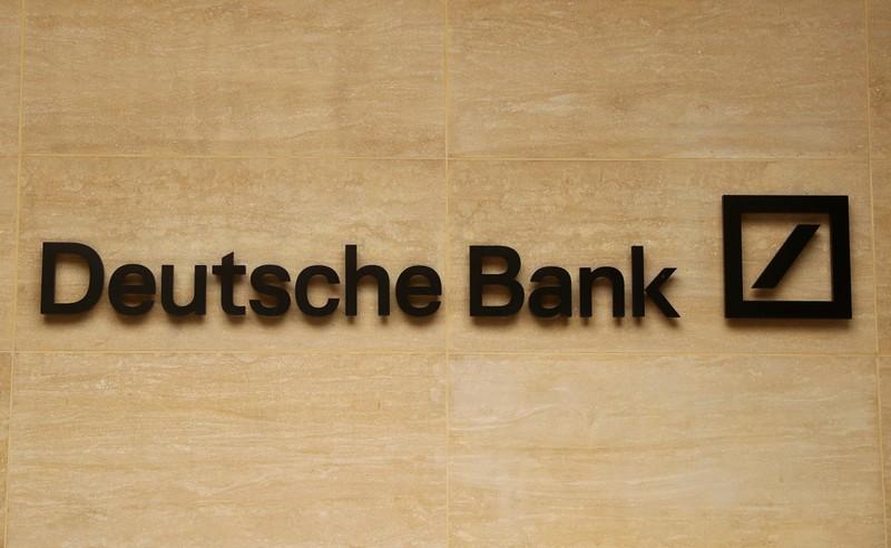 Exclusive: Deutsche Bank sets aside $1 1 billion to exit derivatives