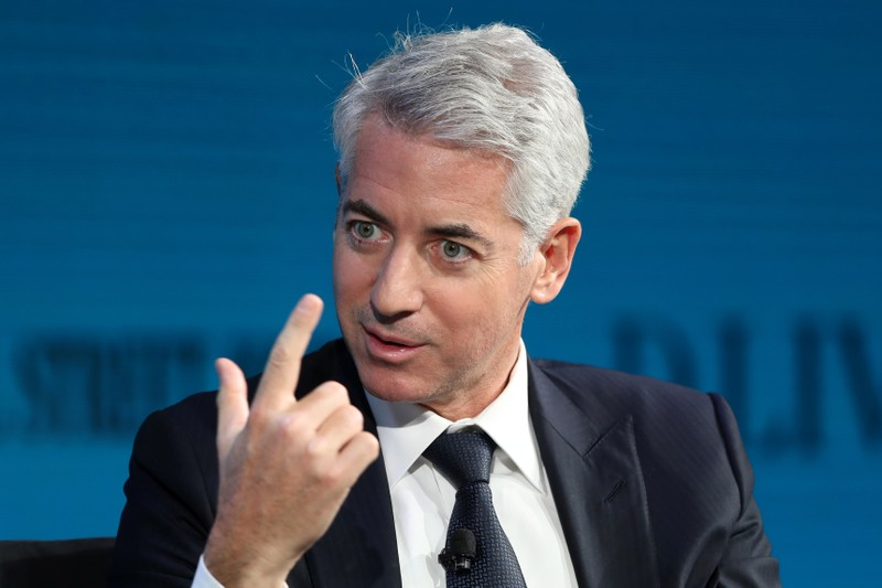 Ackman, CEO of Pershing Square Capital, speaks at the WSJ Digital Conference in Laguna Beach