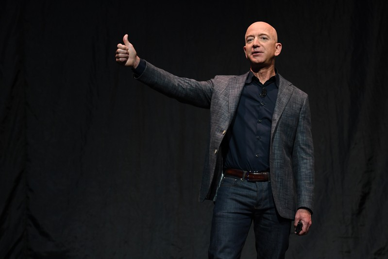 Jeff Bezos a vendu pour 2,8 milliards de dollars d'actions Amazon