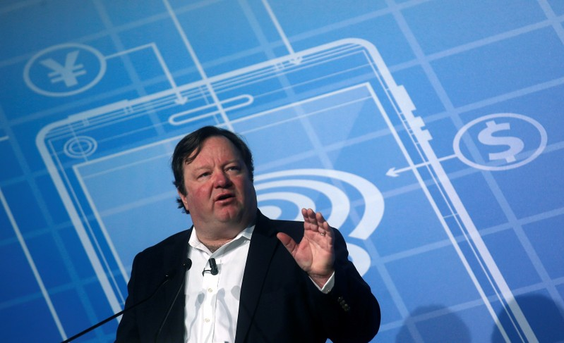 FILE PHOTO: Viacom International Media Networks President and CEO Bakish speaks at the Mobile World Congress in Barcelona
