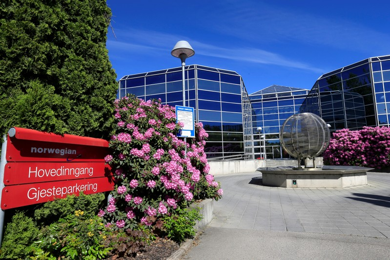 FILE PHOTO: Norwegian Air headquarters in Fornebu
