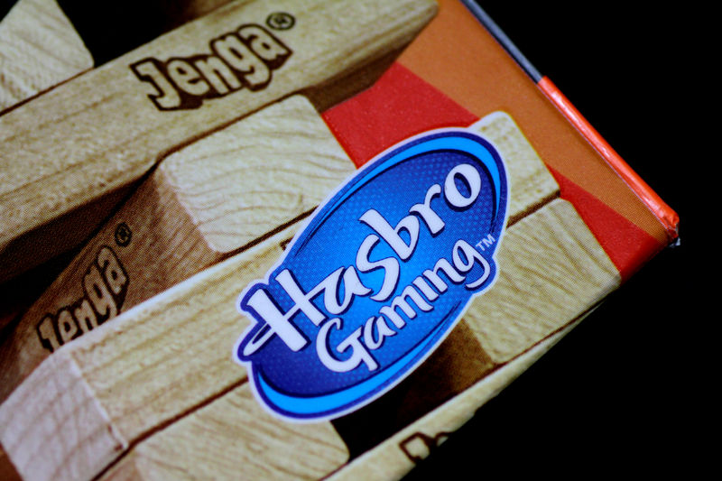 FILE PHOTO - Illustration photo of a Jenga game by Hasbro Gaming