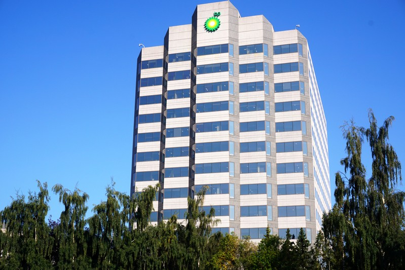 The BP Exploration (Alaska) Inc. headquarters is pictured in Anchorage