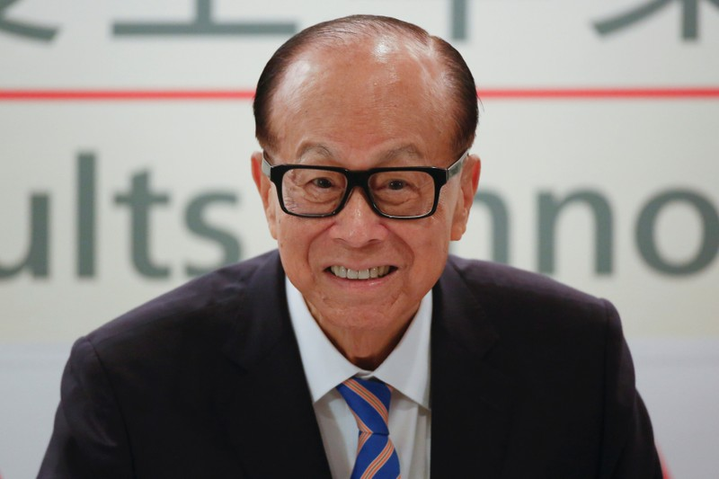 Hong Kong tycoon Li Ka-shing announces his retirement in Hong Kong