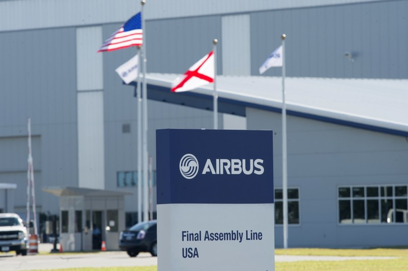 The Airbus U.S. Manufacturing Facility in Mobile