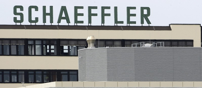 German company Schaeffler Group, the world's second largest ball-bearing maker is pictured in Herzogenaurach
