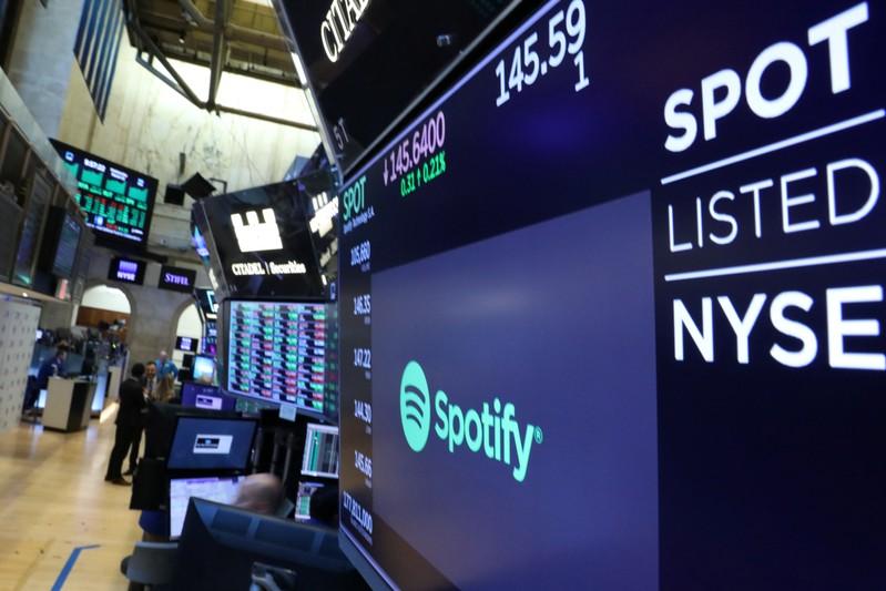 Spotify: Bénéfice surprise au 3ème trimestre, hausse des abonnements payants - Infos Reuters