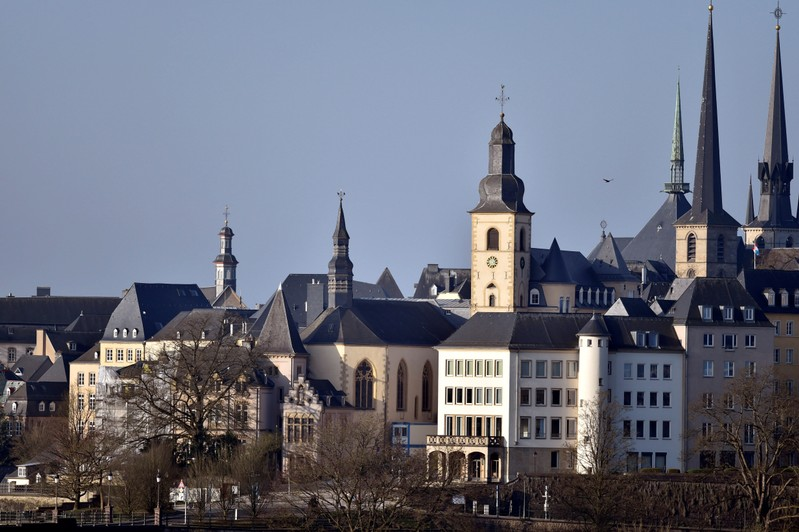FILE PHOTO: General view of the city of Luxembourg