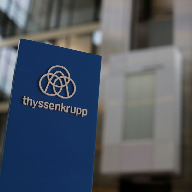 ThyssenKrupp AG annual news conference