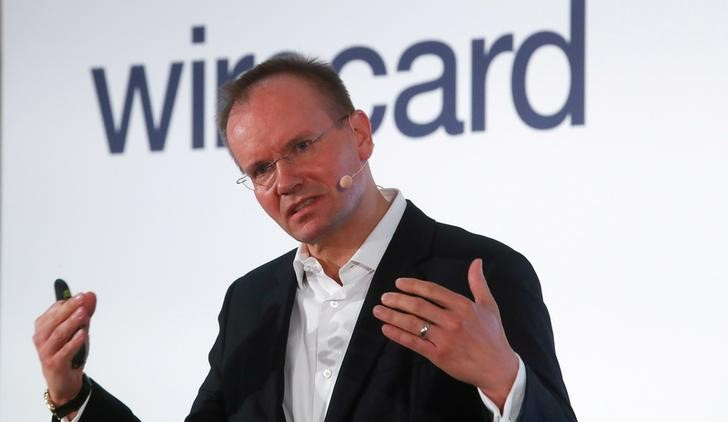 FILE PHOTO: Braun, CEO of Wirecard, at the company's annual news conference