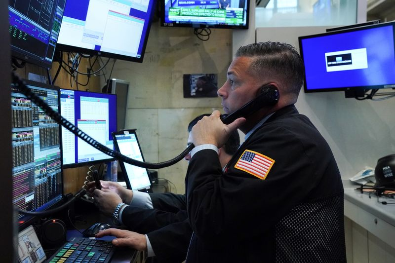 LA BOURSE DE NEW YORK FINIT DANS LE ROUGE
