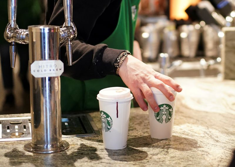 Coronavirus: Starbucks stops customers using own cups