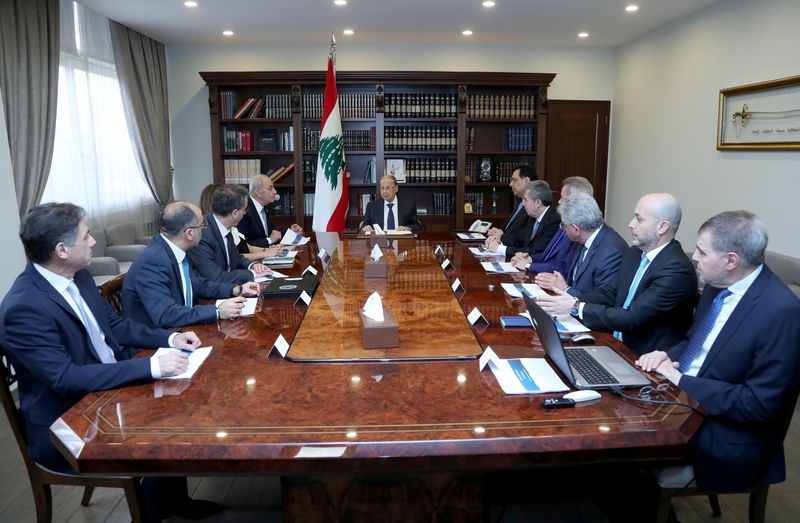 Top Lebanese leaders oppose paying sovereign debt