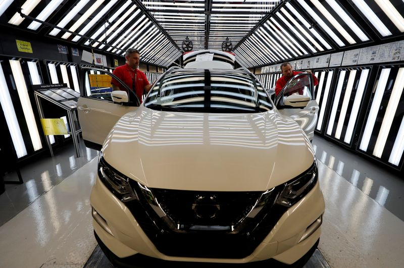 NISSAN SUSPEND LA PRODUCTION SUR SON SITE ANGLAIS DE SUNDERLAND