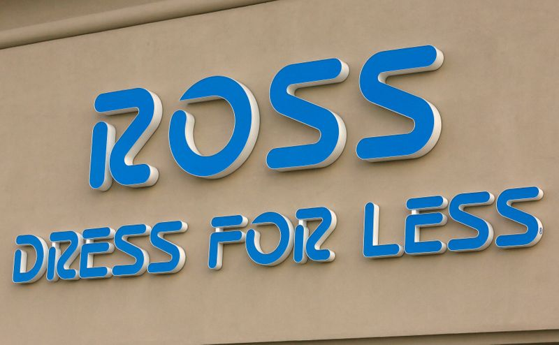 FILE PHOTO: The sign outside a Ross store is seen in Broomfield, Colorado