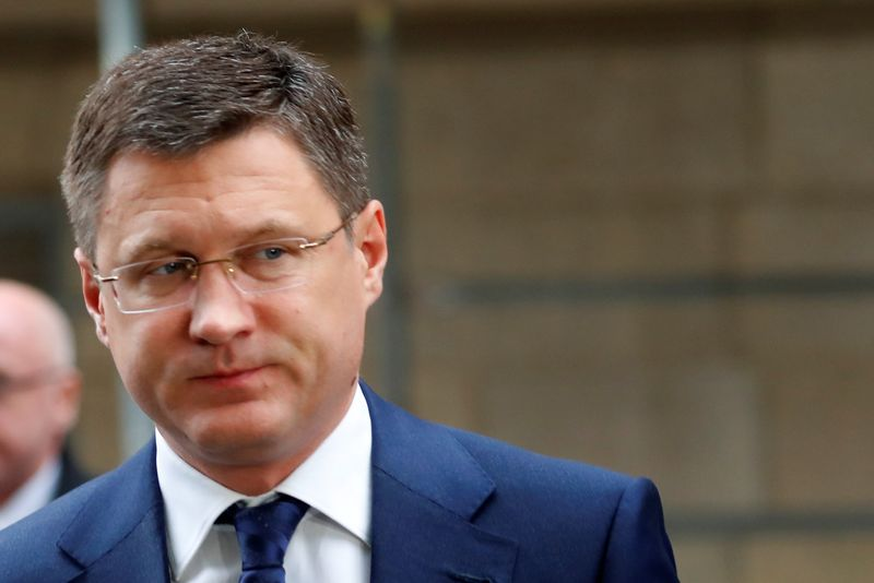 Russian Energy Minister Novak arrives at the OPEC headquarters in Vienna