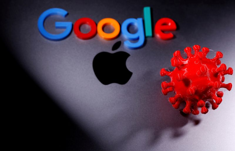 Apple and Google combine to build complex coronavirus tracking system