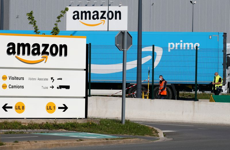 Amazon's French warehouses remain closed